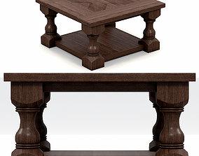 3D model Desk Sofa