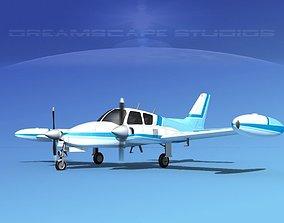 3D Cessna 310 V01