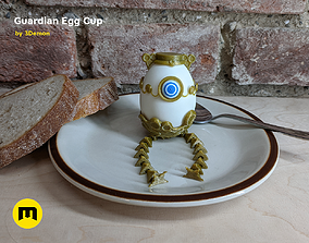 3D print model Guardian Egg Holder Cup