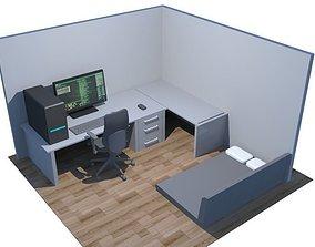 3D model Computer Room