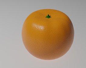 3D asset Mandarin Fruit