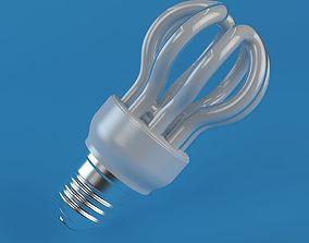 3D model Energy Saver Lightbulb III