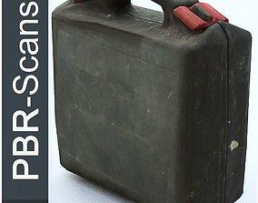 3D asset Suitcase Low poly