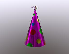 Party Hat 3D asset
