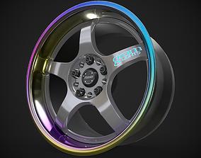 Rays Gram Lights 57Pro with Titanium Lip 3D model