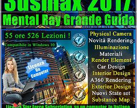 Corso 3ds max 2017 Mental Ray Grande Guida un