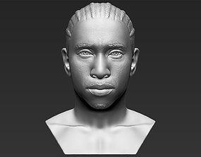 Tyga bust 3D printing ready stl obj formats