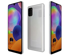 Samsung Galaxy A31 Prism Crush White 3D model
