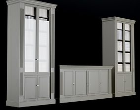 3D model Cabinet and commode