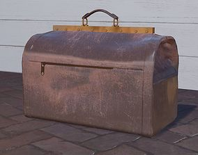 3D model Vintage Luggage Travel Bag