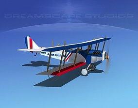 3D model Curtiss JN-2 Jenny Sport