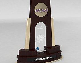 3D model NCAA National Basketball Championship Trophy