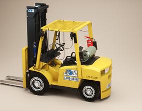 Forklift hyster 80 3D