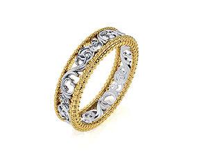 engagement Ring R 0084 3D print model