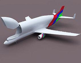 3D Color Cargo Super Transporter