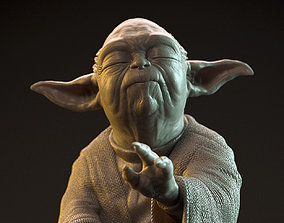 YODA ready for 3D Printing - model by Flavio Novi