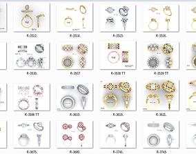 650 Ring Earrings Pendant Bracelets Necklace 3dm bulk