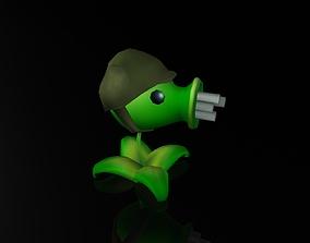 3D model Creative Bean Plant