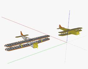 AT freight aircraft 3D model