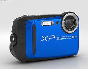 3D Fujifilm FinePix XP90 Blue