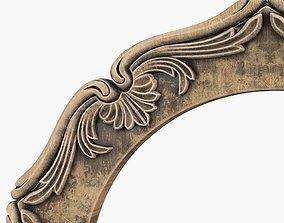 3D print model carving Frame