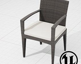 3D asset Dedon Panama Chair 002 UE4