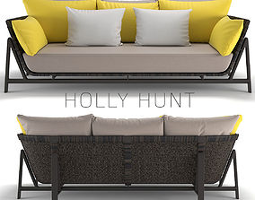 Holly Hunt Manta Ray Daybed 3D model