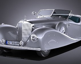 3D Mercedes-Benz 500K Erdmann Rossi 1936
