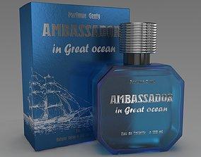 Ambassador in great ocean 3D model