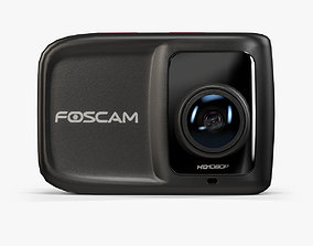 Foscam AC1080 action camera 3D model