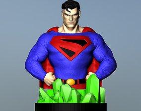 Superman Kingdom Come Bust 3D print model