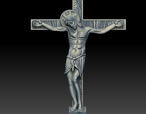 3D print model JESUS ON THE CROSS christ
