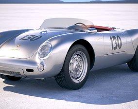 Porsche Spyder 550 1953 3D