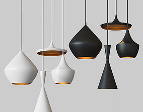 Beat Light chandelier Set Tom Dixon Loft-Concept 3D 2