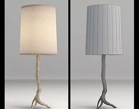 Arteriors Adler table lamp 3D