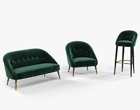3D Brabbu Malay armchair sofa and bar chair