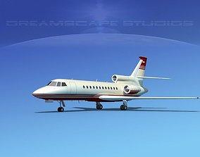 Dassault Falcon 900 V02 3D model