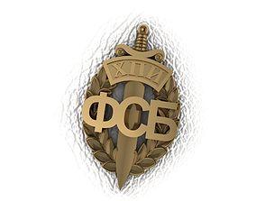 FSB Federal Security Service 3D print model