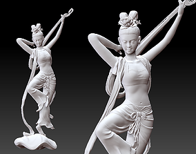 Asian ancient lady 3D print model