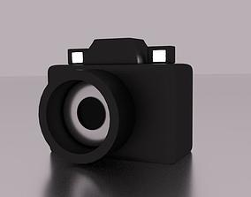 Camera 3D asset