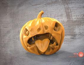 Evil pumpkin 3D printable model