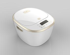 Rice cooker model high-quality 3D model