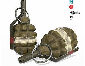 3D asset F1 Hand Grenade