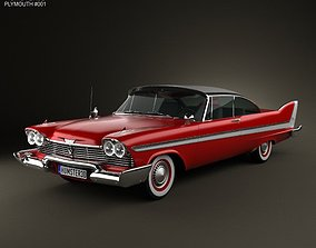 3D Plymouth Fury Sport coupe 1959-1962