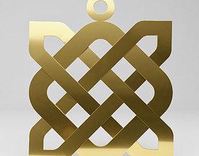 3D print model Celtic pendant gravestone