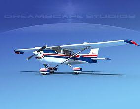 Cessna 172 Skyhawk STOL V01 3D model