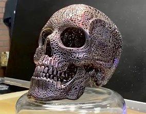 3D printable model Filigree Anatomical Skull - 1