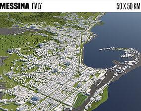 3D model Messina Italy