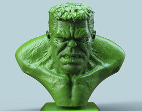 hero Hulk Bust 3D printable model