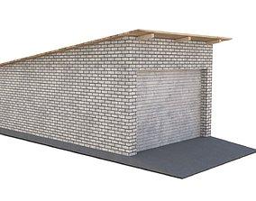 Brick garage depot 3D model
